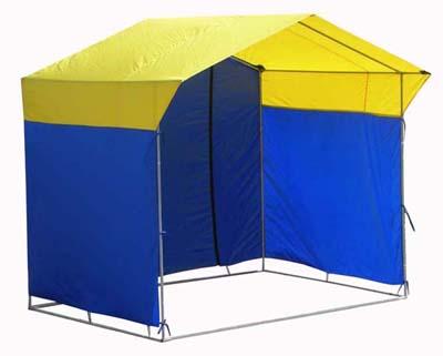 Палатка для проката водного шара